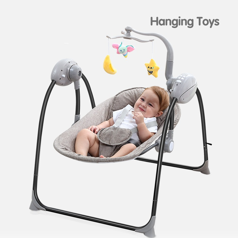 Tremendous Tumama Baby Electric Rocking Chair Blister Brown Evergreenethics Interior Chair Design Evergreenethicsorg