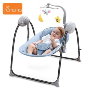 Baby Electric Rocking Chair - Blister Brown 2